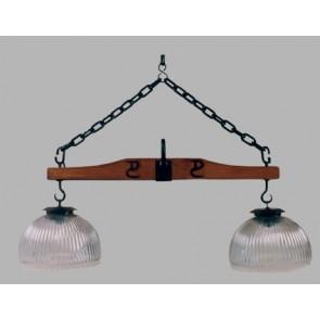 Lámpara 2 luces balancin