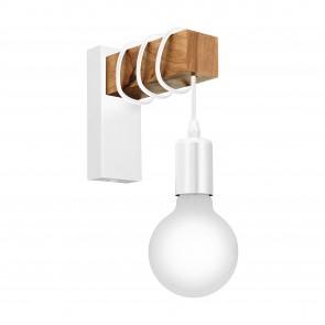 Lámpara de pared SERIE Blanco / Marrón