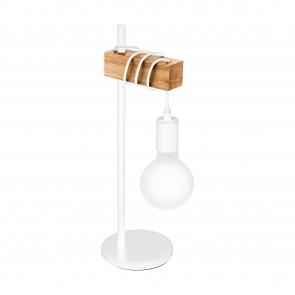 Lámpara de mesa SERIE Blanco / Marrón