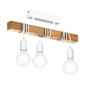 Lámpara de techo SERIE Blanco / Marrón