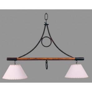 Lámpara 2 luces H yM con pantalla