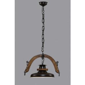 Colgante 1 luz Doble Yuguillo campana
