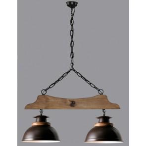 Lámpara 2L Percha Campana Esfera