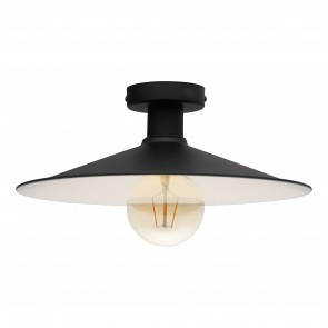 Lámpara de techo SERIE Negro, beige /