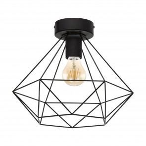 Lámpara de techo SERIE Negro /