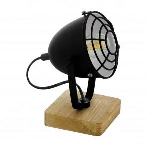 Lámpara de mesa SERIE Naturaleza / Negro