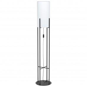 Lámpara de pie SERIE Negro / Blanco
