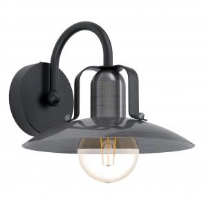 Lámpara de pared SERIE Negro / -