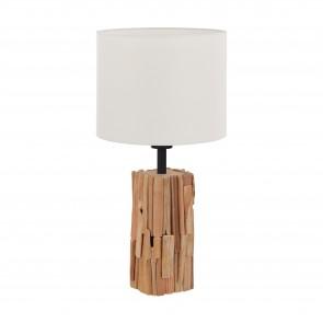 Lámpara de mesa SERIE Naturaleza, negro / Blanco