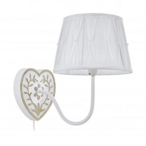 Lámpara de pared SERIE Blanco, oro / Blanco