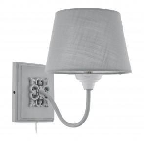 Lámpara de pared SERIE Gris-pátina / Gris
