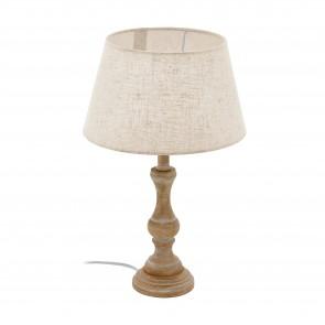 Lámpara de mesa SERIE Blanco-pátina / Crema