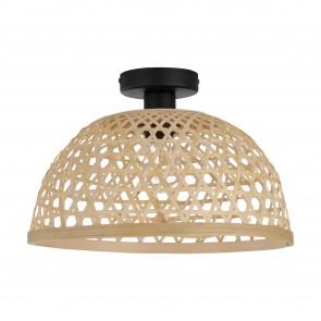 Lámpara de techo SERIE Negro / Naturaleza