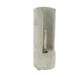 Lámpara de mesa SERIE Gris /