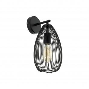 Lámpara de pared SERIE Negro /