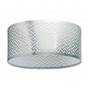Lámpara de techo SERIE Níquel-mate, cromo / Claro