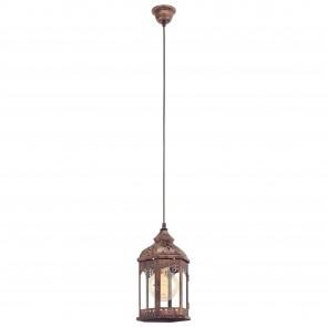 Lámpara colgante SERIE Colores de cobre / Claro