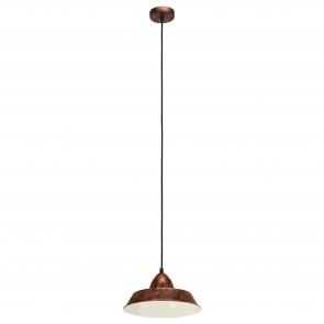 Lámpara colgante SERIE Colores de cobre antiguo /