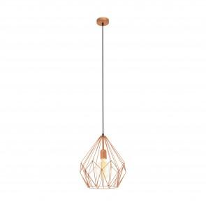 Lámpara colgante SERIE Colores de cobre /