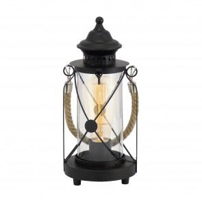 Lámpara de mesa SERIE Negro / Claro