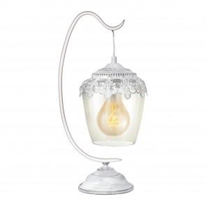 Lámpara de mesa SERIE Blanco-pátina / Claro