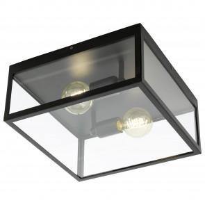 Lámpara de techo SERIE Negro / Claro