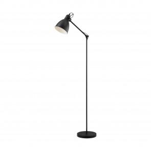 Lámpara de pie SERIE Negro, blanco /