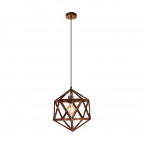 Lámpara colgante SERIE Cobre antiguo /
