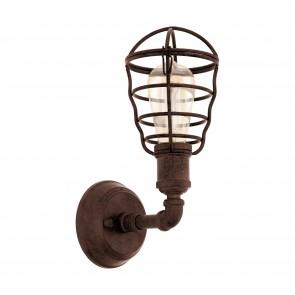 Lámpara de pared SERIE Marrón antiguo /