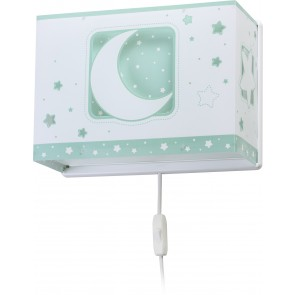 APLIQUE MOON LIGHT VERDE