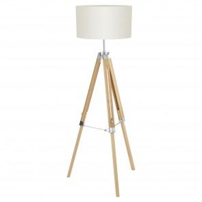Lámpara de pie SERIE Naturaleza / Beige