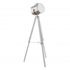 Lámpara de pie SERIE Blanco-pátina / Níquel-mate