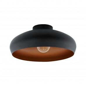 Lámpara de techo SERIE Negro, cobre /