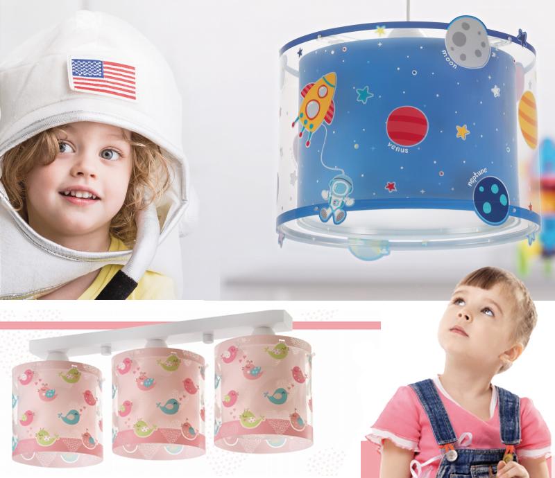 lámparas infantiles niño y niña
